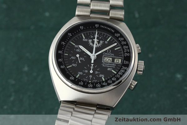 Used luxury watch Omega Speedmaster chronograph steel automatic Kal. 1045  | 143003 04