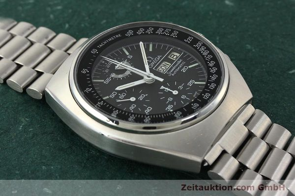 Used luxury watch Omega Speedmaster chronograph steel automatic Kal. 1045  | 143003 15