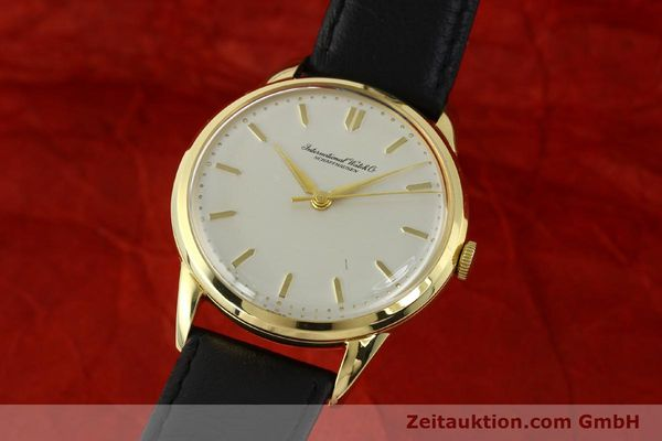 Used luxury watch IWC Portofino 18 ct gold manual winding Kal. 89 VINTAGE  | 143004 04