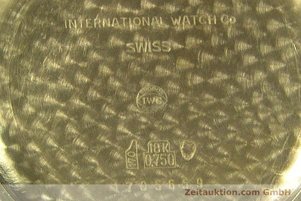 Used luxury watch IWC Portofino 18 ct gold manual winding Kal. 89 VINTAGE  | 143004 09