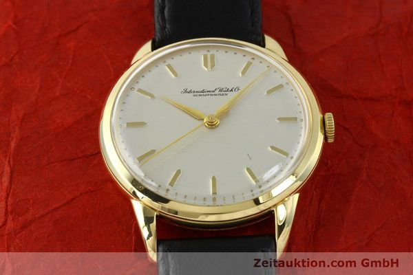 Used luxury watch IWC Portofino 18 ct gold manual winding Kal. 89 VINTAGE  | 143004 14