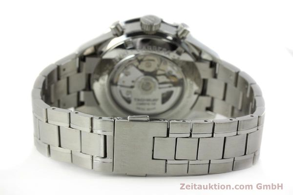 Used luxury watch Tag Heuer Carrera chronograph steel automatic Kal. 16 ETA 7750 Ref. CV2010-2  | 143005 11