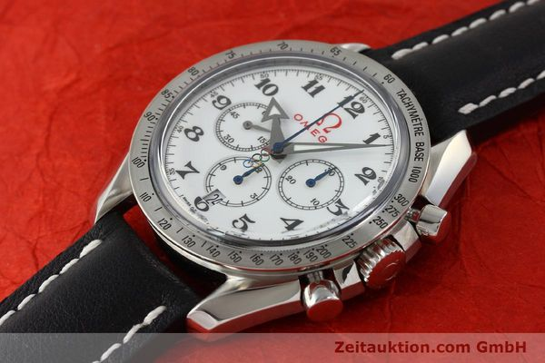 Used luxury watch Omega Speedmaster chronograph steel automatic Kal. 3313B Ref. 321.10.42.50.04.001 LIMITED EDITION | 143012 01