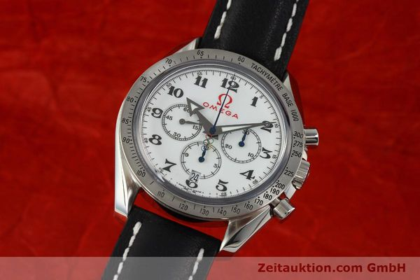 Used luxury watch Omega Speedmaster chronograph steel automatic Kal. 3313B Ref. 321.10.42.50.04.001 LIMITED EDITION | 143012 04