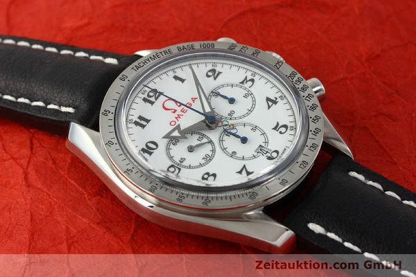 Used luxury watch Omega Speedmaster chronograph steel automatic Kal. 3313B Ref. 321.10.42.50.04.001 LIMITED EDITION | 143012 15