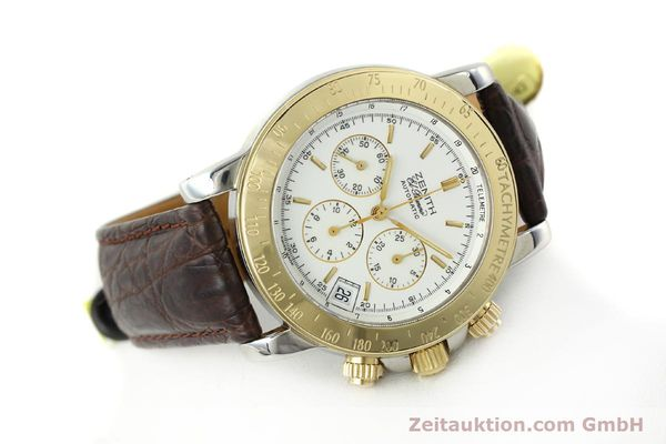 Used luxury watch Zenith Elprimero chronograph steel / gold automatic Kal. 400 Ref. 15/58-0460-400  | 143015 03