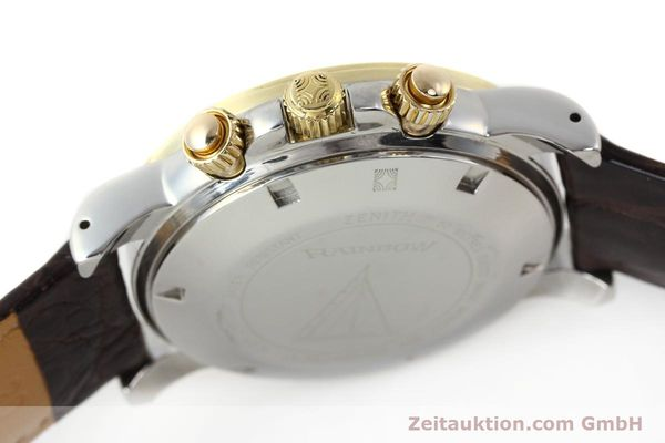 Used luxury watch Zenith Elprimero chronograph steel / gold automatic Kal. 400 Ref. 15/58-0460-400  | 143015 08