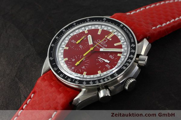 Used luxury watch Omega Speedmaster chronograph steel automatic Kal. 1143 ETA 2890-A2  | 143016 01