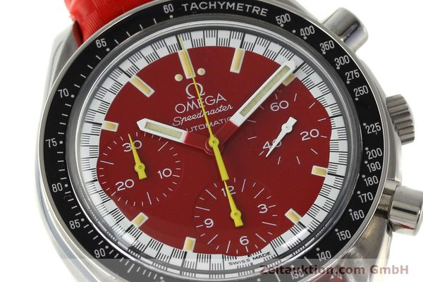 Used luxury watch Omega Speedmaster chronograph steel automatic Kal. 1143 ETA 2890-A2  | 143016 02