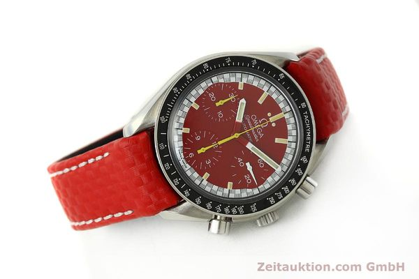 Used luxury watch Omega Speedmaster chronograph steel automatic Kal. 1143 ETA 2890-A2  | 143016 03