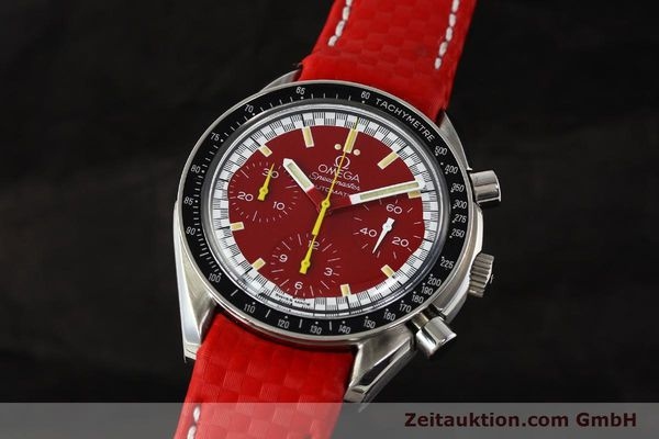 Used luxury watch Omega Speedmaster chronograph steel automatic Kal. 1143 ETA 2890-A2  | 143016 04