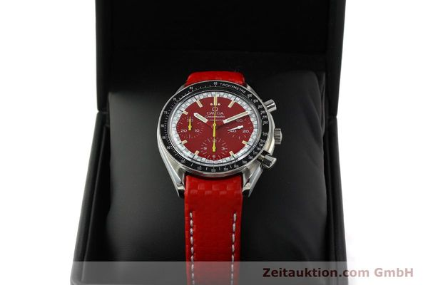 Used luxury watch Omega Speedmaster chronograph steel automatic Kal. 1143 ETA 2890-A2  | 143016 07