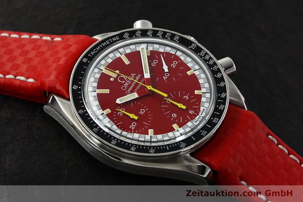 Used luxury watch Omega Speedmaster chronograph steel automatic Kal. 1143 ETA 2890-A2  | 143016 15