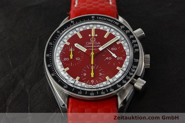 Used luxury watch Omega Speedmaster chronograph steel automatic Kal. 1143 ETA 2890-A2  | 143016 16