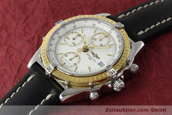 Used luxury watch Breitling Chronomat chronograph steel / gold automatic Kal. B13 ETA 7750 Ref. D13047  | 143020 01