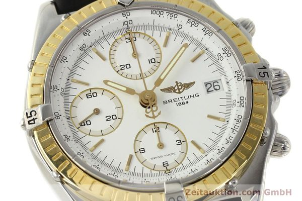 Used luxury watch Breitling Chronomat chronograph steel / gold automatic Kal. B13 ETA 7750 Ref. D13047  | 143020 02