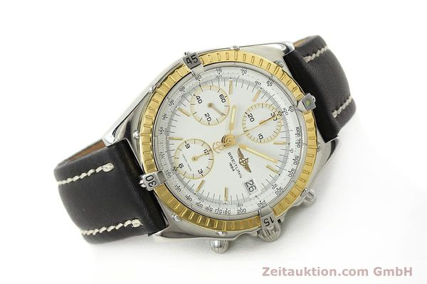 Used luxury watch Breitling Chronomat chronograph steel / gold automatic Kal. B13 ETA 7750 Ref. D13047  | 143020 03