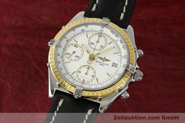 Used luxury watch Breitling Chronomat chronograph steel / gold automatic Kal. B13 ETA 7750 Ref. D13047  | 143020 04