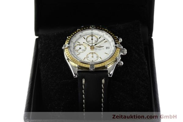 Used luxury watch Breitling Chronomat chronograph steel / gold automatic Kal. B13 ETA 7750 Ref. D13047  | 143020 07