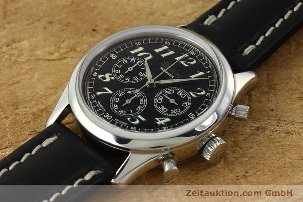 Used luxury watch Breitling Premier chronograph steel automatic Kal. B40 ETA 2892A2 Ref. A40035  | 143021 01