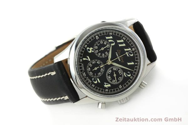 Used luxury watch Breitling Premier chronograph steel automatic Kal. B40 ETA 2892A2 Ref. A40035  | 143021 03