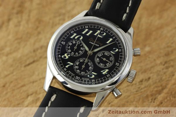 Used luxury watch Breitling Premier chronograph steel automatic Kal. B40 ETA 2892A2 Ref. A40035  | 143021 04