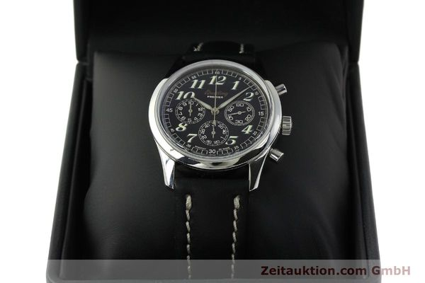 Used luxury watch Breitling Premier chronograph steel automatic Kal. B40 ETA 2892A2 Ref. A40035  | 143021 07