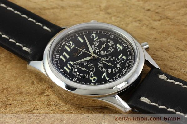 Used luxury watch Breitling Premier chronograph steel automatic Kal. B40 ETA 2892A2 Ref. A40035  | 143021 13