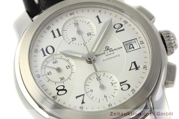 Used luxury watch Baume & Mercier Capeland chronograph steel automatic Kal. BM13750 ETA 7750 Ref. MV045216  | 143023 02
