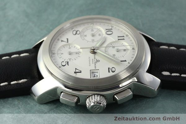 Used luxury watch Baume & Mercier Capeland chronograph steel automatic Kal. BM13750 ETA 7750 Ref. MV045216  | 143023 05