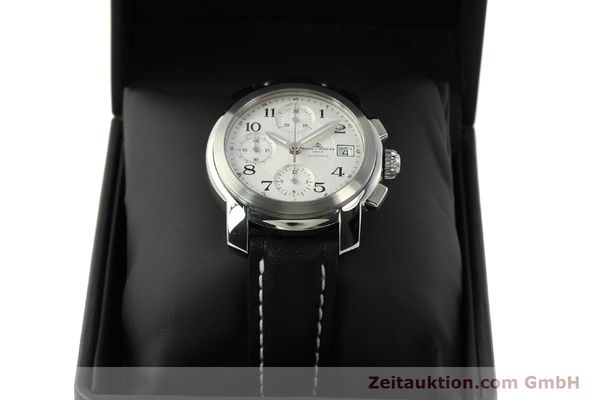 Used luxury watch Baume & Mercier Capeland chronograph steel automatic Kal. BM13750 ETA 7750 Ref. MV045216  | 143023 07