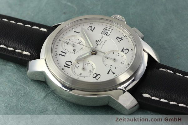 Used luxury watch Baume & Mercier Capeland chronograph steel automatic Kal. BM13750 ETA 7750 Ref. MV045216  | 143023 13