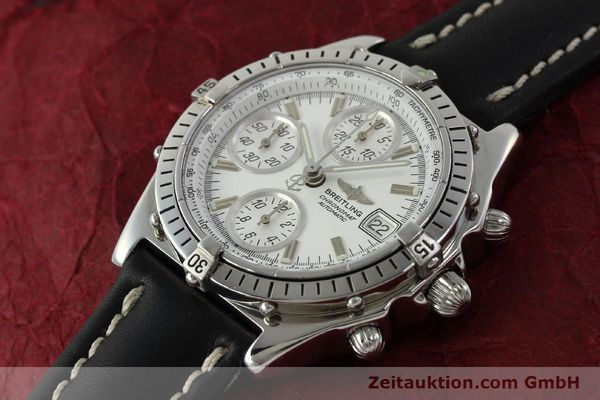 Used luxury watch Breitling Chronomat chronograph steel automatic Kal. B13 VAL 7750 Ref. A13047  | 143024 01