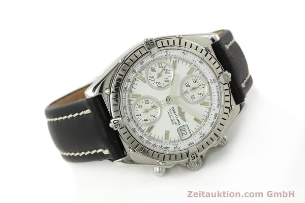 Used luxury watch Breitling Chronomat chronograph steel automatic Kal. B13 VAL 7750 Ref. A13047  | 143024 03