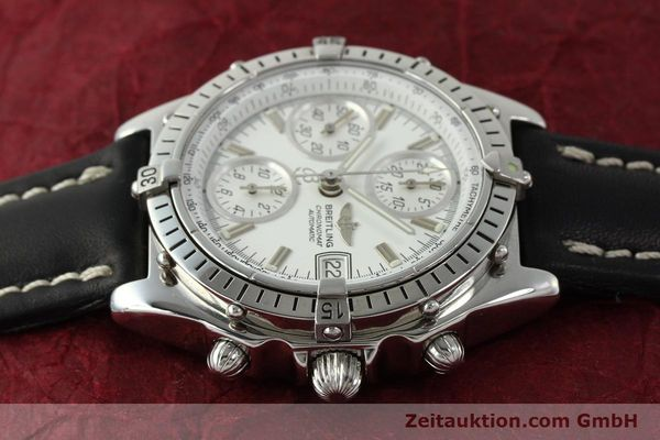 Used luxury watch Breitling Chronomat chronograph steel automatic Kal. B13 VAL 7750 Ref. A13047  | 143024 05