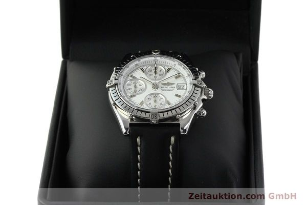 Used luxury watch Breitling Chronomat chronograph steel automatic Kal. B13 VAL 7750 Ref. A13047  | 143024 07