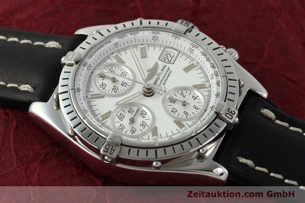Used luxury watch Breitling Chronomat chronograph steel automatic Kal. B13 VAL 7750 Ref. A13047  | 143024 15