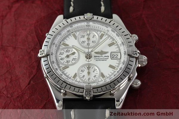 Used luxury watch Breitling Chronomat chronograph steel automatic Kal. B13 VAL 7750 Ref. A13047  | 143024 16