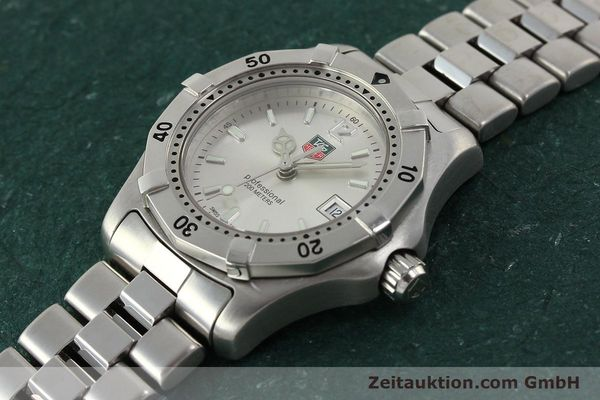 Used luxury watch Tag Heuer Professional steel quartz Kal. ETA F0311 Ref. WK1312.1  | 143028 01