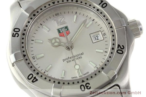 Used luxury watch Tag Heuer Professional steel quartz Kal. ETA F0311 Ref. WK1312.1  | 143028 02