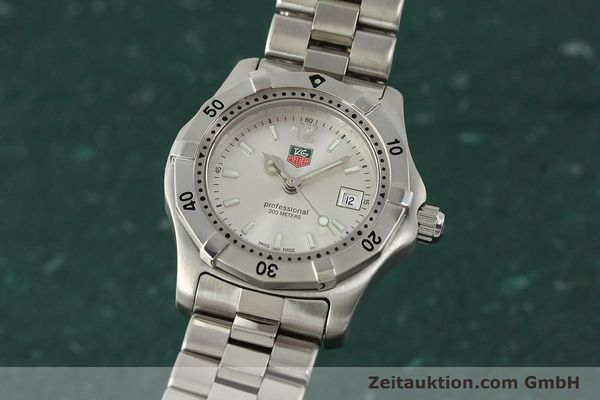 Used luxury watch Tag Heuer Professional steel quartz Kal. ETA F0311 Ref. WK1312.1  | 143028 04