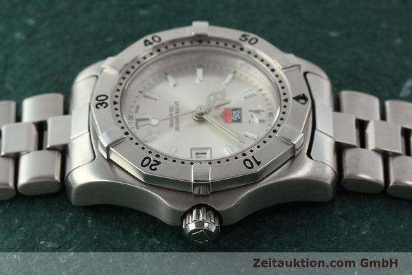 Used luxury watch Tag Heuer Professional steel quartz Kal. ETA F0311 Ref. WK1312.1  | 143028 05