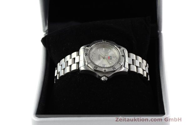 Used luxury watch Tag Heuer Professional steel quartz Kal. ETA F0311 Ref. WK1312.1  | 143028 07