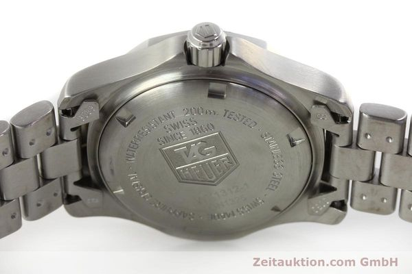 Used luxury watch Tag Heuer Professional steel quartz Kal. ETA F0311 Ref. WK1312.1  | 143028 09