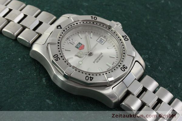 Used luxury watch Tag Heuer Professional steel quartz Kal. ETA F0311 Ref. WK1312.1  | 143028 13