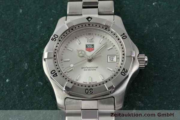 Used luxury watch Tag Heuer Professional steel quartz Kal. ETA F0311 Ref. WK1312.1  | 143028 14