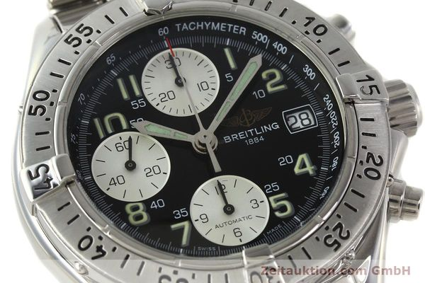 Used luxury watch Breitling Colt chronograph steel automatic Kal. B13 ETA 7750 Ref. A13035  | 143030 02