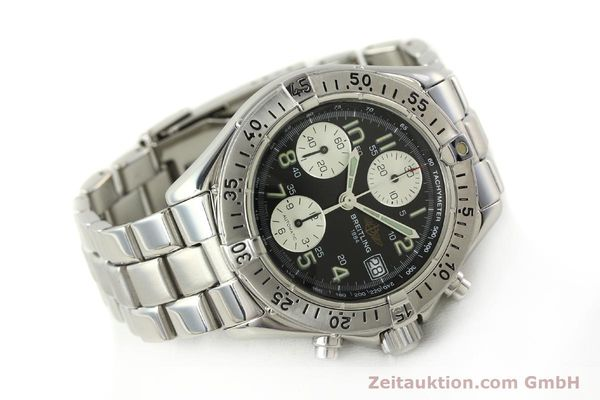 Used luxury watch Breitling Colt chronograph steel automatic Kal. B13 ETA 7750 Ref. A13035  | 143030 03