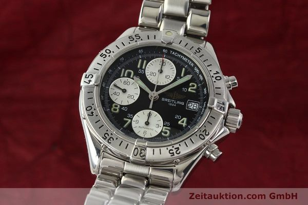 Used luxury watch Breitling Colt chronograph steel automatic Kal. B13 ETA 7750 Ref. A13035  | 143030 04