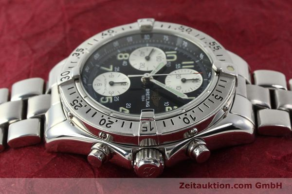 Used luxury watch Breitling Colt chronograph steel automatic Kal. B13 ETA 7750 Ref. A13035  | 143030 05